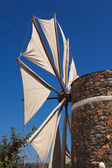 Windmill in the Lasithi Plateau — Stock Photo