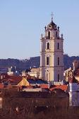 Church of St. Johns in Vilnius — Stock Photo