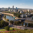 Vilnius panorama - Stock Photo