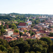 Vilnius cityscape - Stock Photo