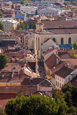 Pilies street in Vilnius old-town — Stock Photo