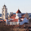 Vilnius churches — Stock Photo