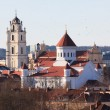 Stock Photo: Vilnius churches