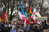 Thousand people gather in nationalist rally in Vilnius — Стоковое фото
