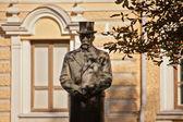 Monument of president Antanas Smetona — Stock Photo