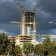 Europa Tower construction — Stock Photo