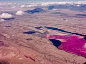 Lake Magadi in Kenya — Stock Photo