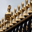 Stock Photo: Detail of Buckingham Palace Gate