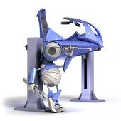 Robota opravář — Stock fotografie