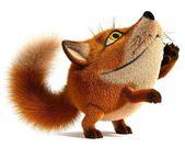 Little fox — Stock Photo