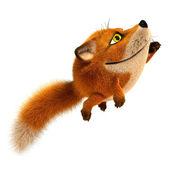 Flying fox — Stock Photo