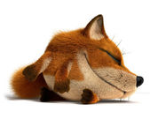Sleep fox — Stock Photo