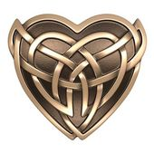 Celtic heart — Stock Photo