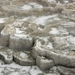 Travertine deposits — Stock Photo