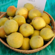 Yellow no name pears — Stock Photo