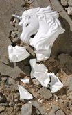 Shattered Unicorn — Stock Photo