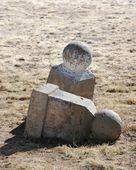Toppled stones — Stock Photo