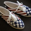 Stock Photo: Patriotic Shoes