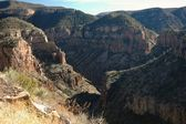 Salt Creek Canyon — Stock Photo