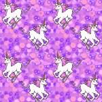 ������, ������: Purple unicorn wallpaper