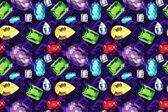 Colorful gemstone wallpaper — Stock Photo