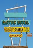 Signe de motel Vintage — Photo