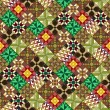 Quilt pattern wallpaper variant — Stock Photo