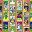 Stock Photo: Tarot wallpaper