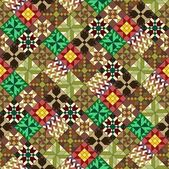 Quilt pattern wallpaper variant — Foto Stock