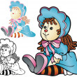 Rag Doll — Stockvector #23144050