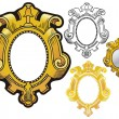 Royalty-Free Stock Vectorielle: Mirror frame