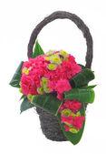 Mazzo di fiori in cesto 01 — Foto Stock