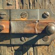 Stock Photo: Rusty latch