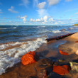 Lake Superior Beach — Stock Photo