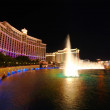 Bellagio Fountains — Stock Photo