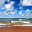 Lake Superior Beach Panoramic — Stock Photo