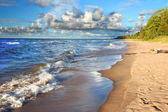 Michigan Lake Superior Beach — Stock Photo