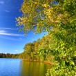 Sweeney Lake Northwoods Wisconsin - Stock Photo