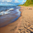 Michigan Lake Superior Beach — Stock Photo #13953095