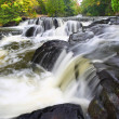 Stock Photo: Bond Falls Northwoods Michigan
