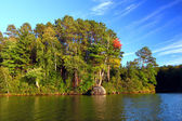 Sweeney Lake Northwoods Wisconsin — Stockfoto