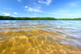 Northwoods Swimming Beach — Stock Photo