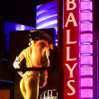 Stock Photo: Ballys Las Vegas Sign