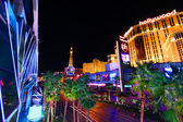 Las Vegas Strip Lights — Stock Photo