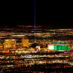 Las Vegas Strip South End — Stock Photo