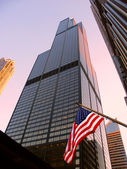 Willis Tower in Chicago — Stock fotografie