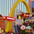 Stock Photo: McDonald's Las Vegas Strip