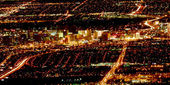 Downtown Fremont Street Las Vegas — Stock Photo