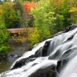 Stock Photo: Bond Falls Michigan