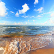 Stock Photo: Lake Superior Beach Michigan